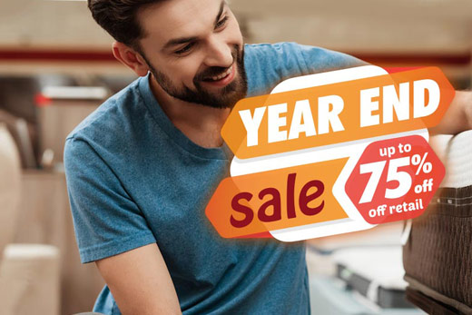 Find Your Perfect Mattress at Our Year-End Sale!