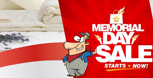 Find a New Mattress During our Memorial Day Sale!