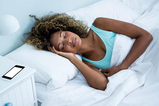 Woman And Sleep